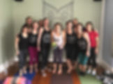 bachelorette pary yoga, small group yoga, private yoga class, bride yoga