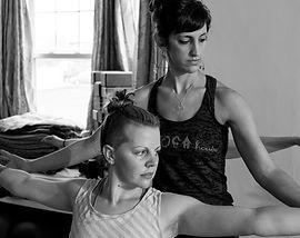privat yoga class, bride yoga, Jacquelyn Nash