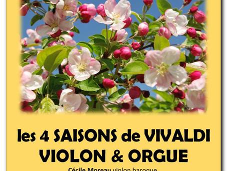Dim 19 mai 2019 LES QUATRE SAISONS DE VIVALDI