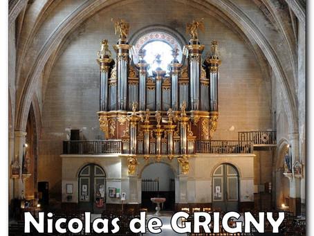 Dim 24 nov 108e Heure musicale Nicolas de GRIGNY