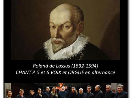Dim 14 avril 2019 CHŒUR A 5 ET 6 VOIX ET ORGUE