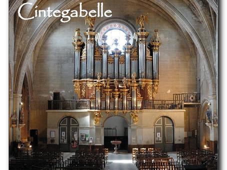 les Heures Musicales à l'Orgue historique de Cintegabelle 2019