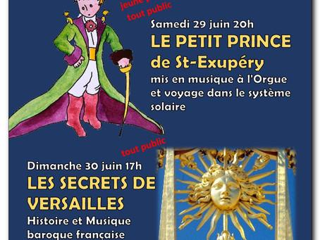 Sam 29 juin 2019 LE PETIT PRINCE de St-Exupéry