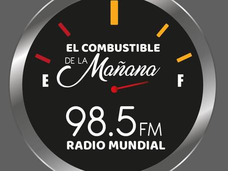 A partir del 1 de Junio no te pierdas tu Programa #ElCombustibleDeLaMañana desde las 6 de la mañana