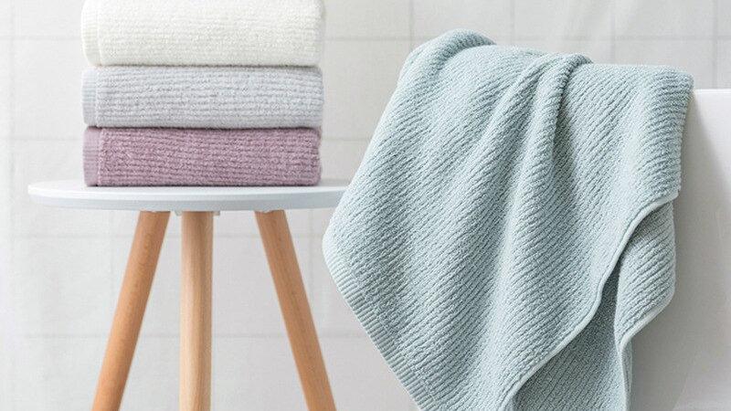 100% Cotton Bathroom Towel Simple Adult Beach Towel Gym Fitness Towels 70*140cm