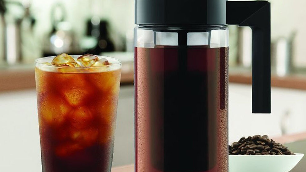 900ML Coffee Kettle Cold Brew Iced Coffee Maker Airtight Seal