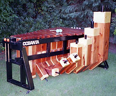CCBANTA Model D113P Semi-Contra Bass Marimba (D-Minor Pentatonic)