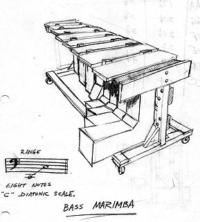 Chris Banta Bass Marimba Sketch No. 2 (1973)