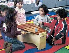 CCBANTA - Tenor Marimba with children