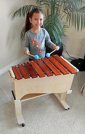 CCBANTA  Tenor Marimba (one octave) on a riser