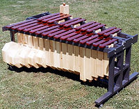 CCBANTA Model E126C Semi-Contra Bass Marimba (Chromatic)