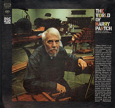 Vinyl Album Cover: The World of Harry Partch