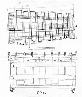 Chris Banta Bass Marimba Sketch No.1 (1973)