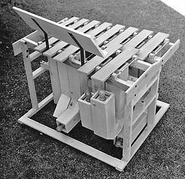 Chris Banta - Bass Marimba photo used for one of the patent's illustrations
