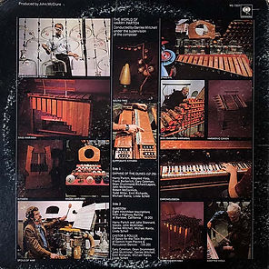 Album World of Harry Partch (back side)