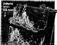 "Ivor Darreg - Upright piano on fire as a ""Down with 12 Tone"" protest"