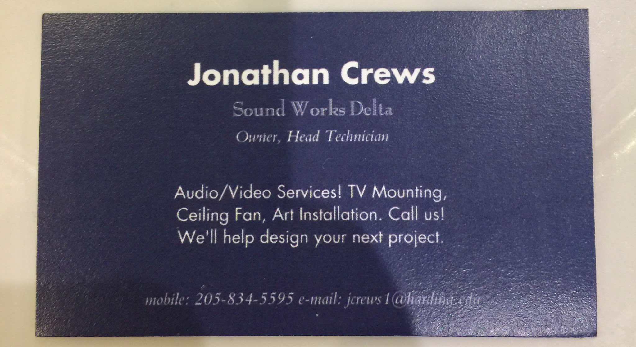 Jonathan Business Card 1