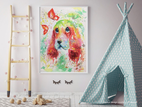 BABY ROOM PAINTING