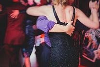 Couples dancing argentinian dance milong