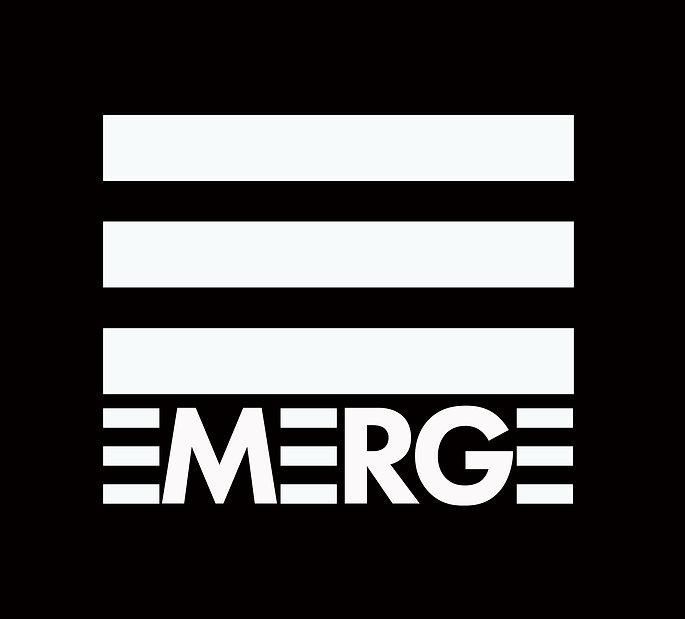 EMERGE LOGO FINAL black background and w