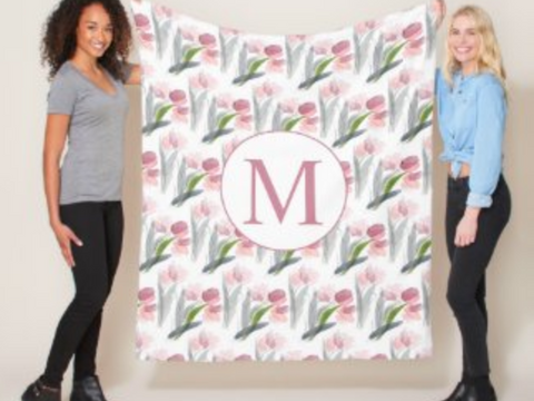 HOW TO PERSONALIZE ZAZZLE'S BLANKETS FOR GIFTING