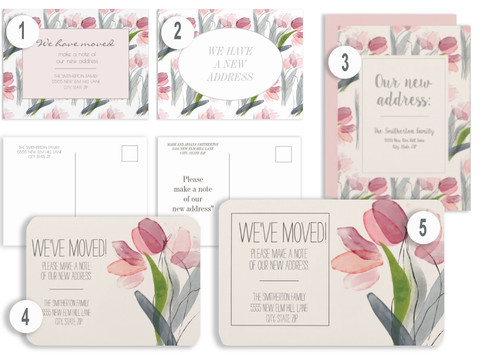 HOW TO USE ZAZZLE FOR YOUR CHANGE OF ADDRESS CARDS