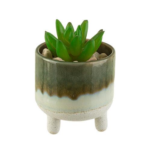 Mojave Glaze Mini Planter