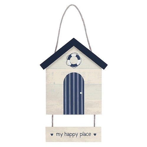 Happy Place Hanging Plaque