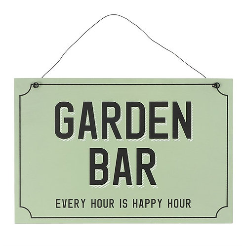 Garden Bar Sign