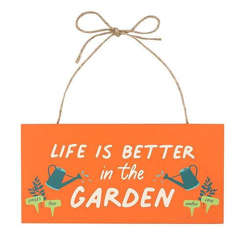 Gardeners Hanging Sign