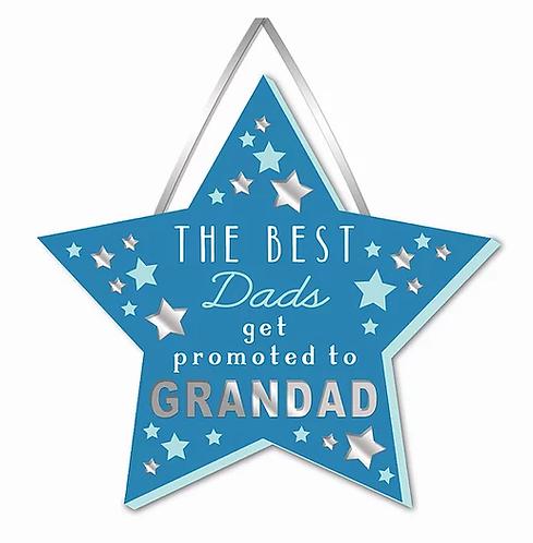 Wooden Grandad Plaque
