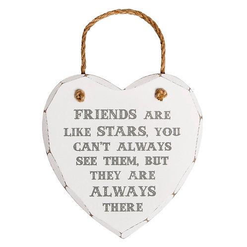 Friends are like Starts Heart