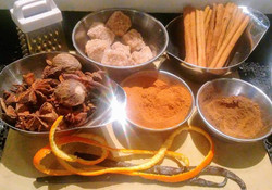 hot buttered rum spices