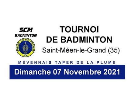 Tournoi Adulte 07/11/2021