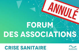 Annulation du Forum des Associations