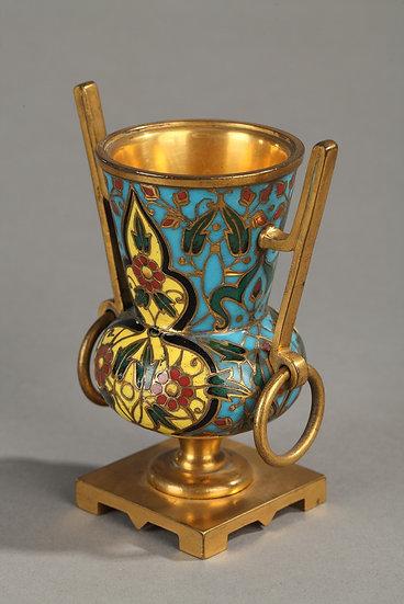 Paire petits vases Médicis F.Barbedienne