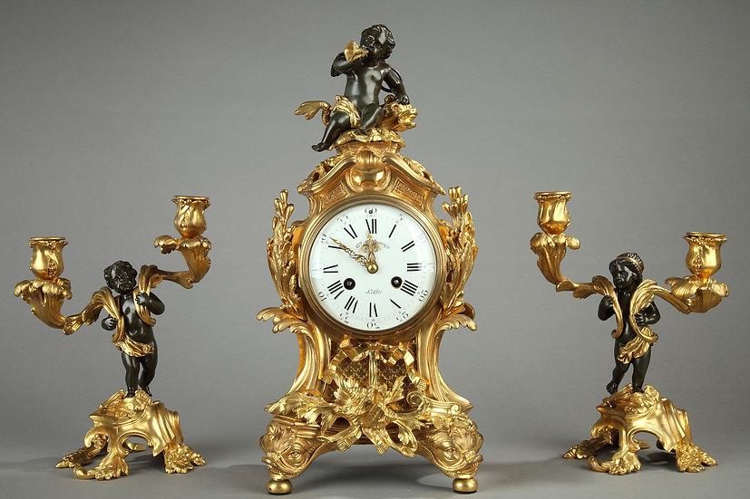 "Garniture Rocaille ""la Mer"""