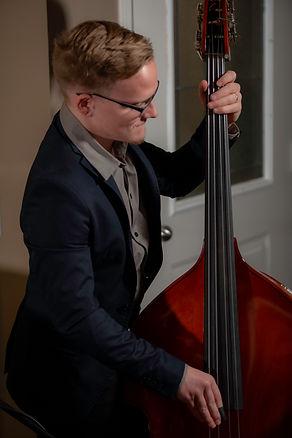 Noah, double bass, portrait_Tuesday in B