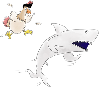 Chickens fill sharks with fear.png
