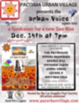 urban voice open mic