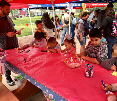 2019 Easter Event Sylmar Rec - Arts and Crafts for the kids