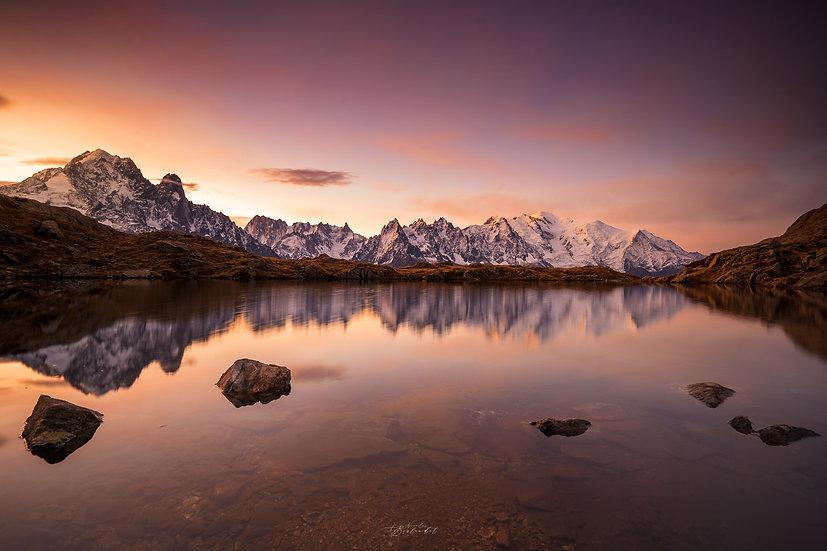 Reflets du Mont Blanc