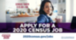 Apply for a 2020 census job (coffee mug)