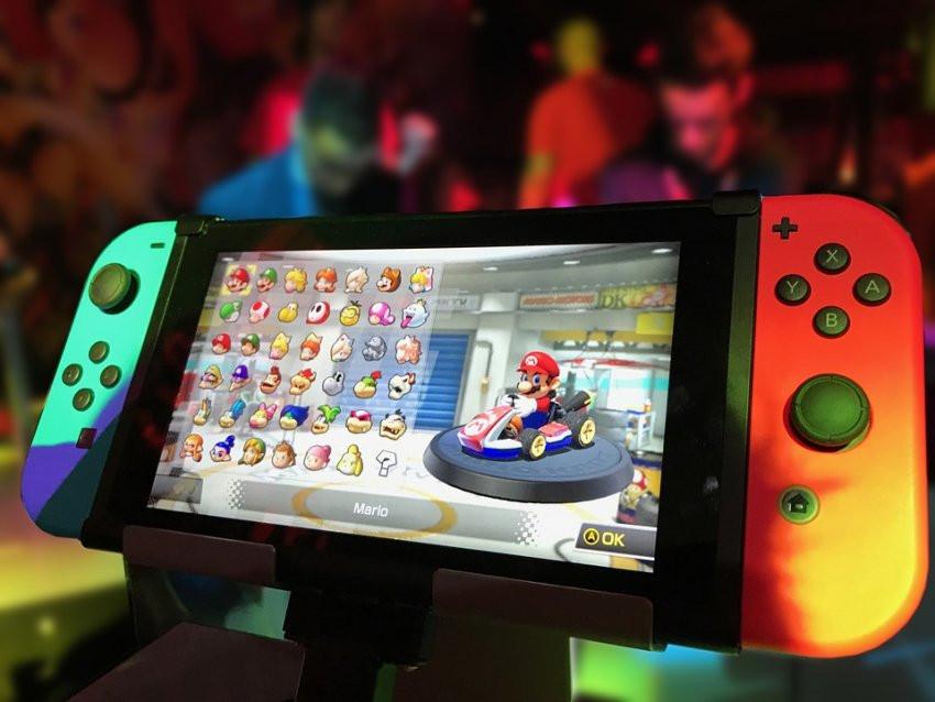 Nintendo предлагает объединить несколько консолей в единое игровое поле