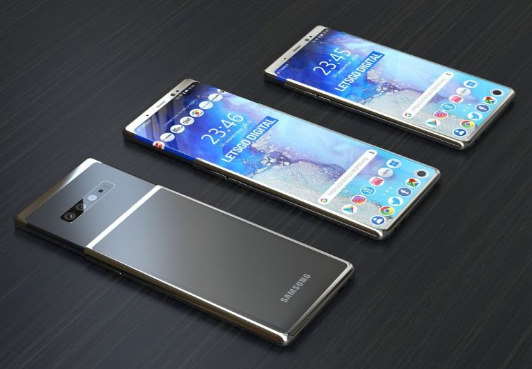 Samsung патентует смартфон-слайдер с гибким экраном