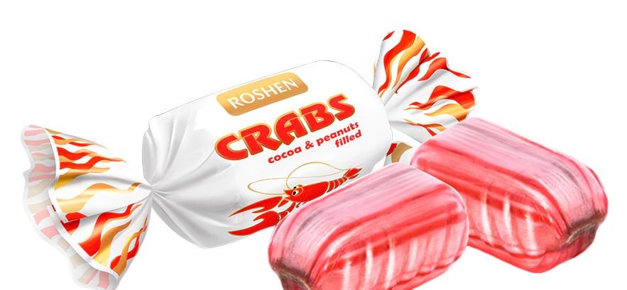 Суд отказал Roshen в регистрации марки конфет Crabs из-за «Раковых шеек»