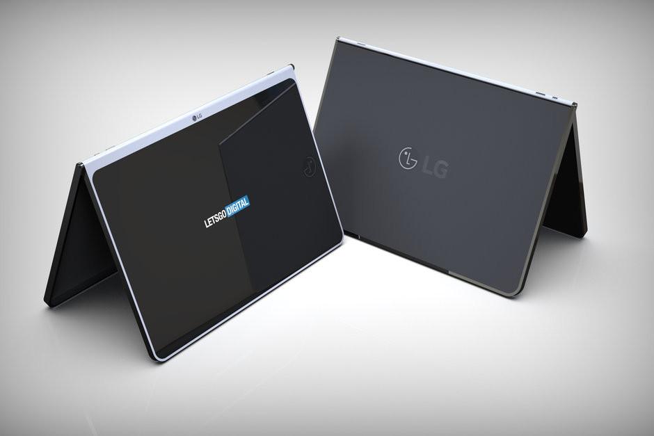 LG патентует планшет, который вы захотите
