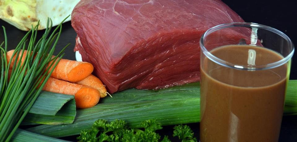 В Германии создали напиток из мяса