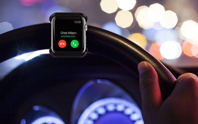 Apple научит умные часы определять, когда пользователь за рулём