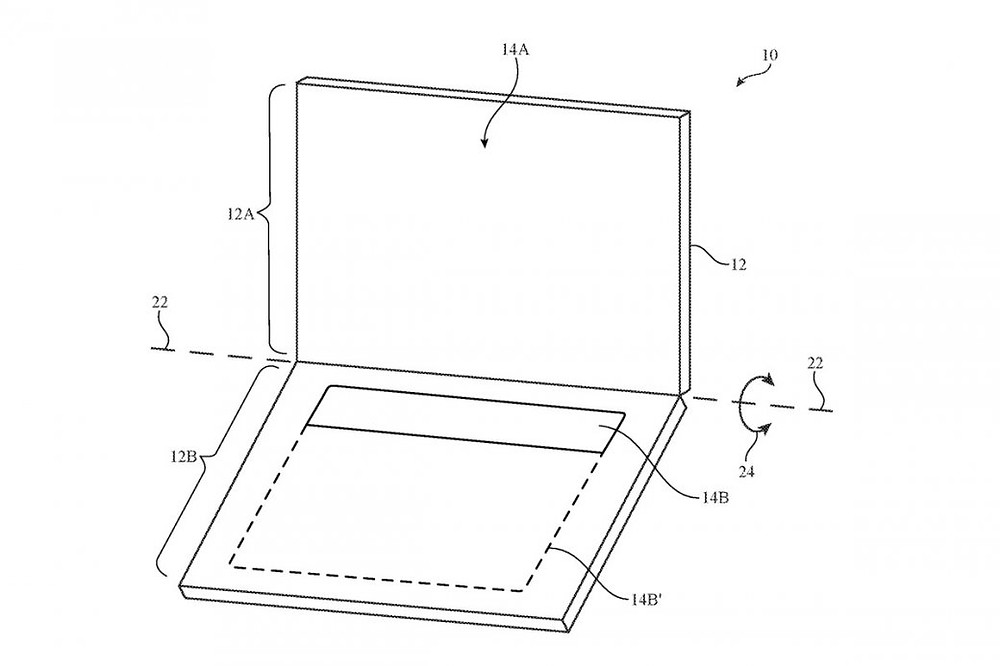 Новый патент от Apple предполагает замену клавиатуры MacBook на OLED-экран